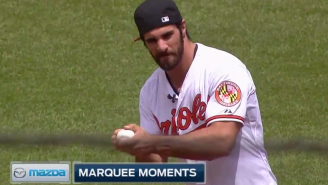 Here's WWE Champion Seth Rollins Proving He's The Undisputed Future Of Baseball
