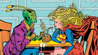 Supergirl Gets Into A Bad Romance In Our Exclusive Preview Of 'Convergence: Supergirl Matrix!'
