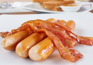 A Man Named Bacon Allegedly Assaulted Someone For Eating All The Sausage