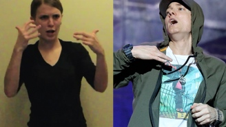 'Lose Yourself' to this woman's ASL sign language version of Eminem's hit song