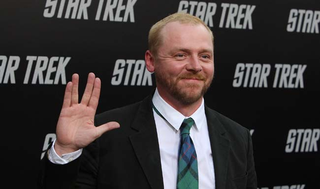 "simon-pegg-star-trek Simon Pegg at the Premiere Of Paramount's ""Star Trek"" - Arrivals"