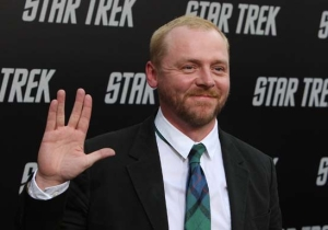 Simon Pegg Rallied The Fans For Help With 'Star Trek Beyond'