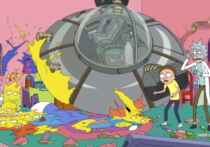 Watch The 'Rick And Morty' Couch Gag From This Sunday's 'Simpsons'