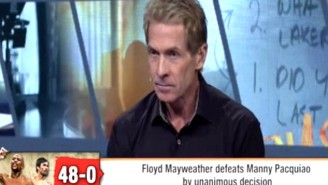 Skip Bayless Continues His Trolling Ways With His 'Pacquiao Won The Fight' Take