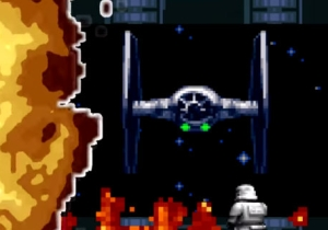 Watch The 'Star Wars: The Force Awakens' Trailer As A 16-Bit Game