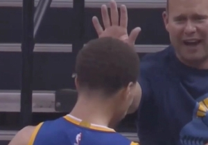 Steph Curry Had Such A Great Game 4, A Grizzlies Fan Offered Him A High-Five