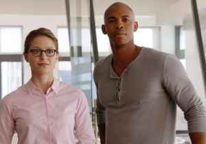 CBS First Images: 'Supergirl' with glasses, 'Rush Hour' hijinks, 'Limitless' blur