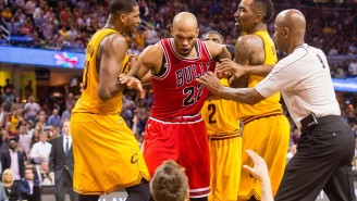 Taj Gibson Calls Out 'Classless' Cavs Fans Following An Ejection And Thrown Towel