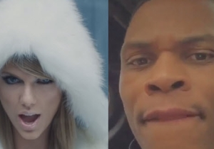 Watch NBA Superstar Russell Westbrook Rock Out To Taylor Swift's 'Bad Blood'