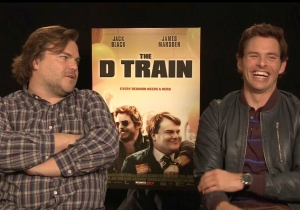 Jack Black and James Marsden on the creepiest characters they've ever played