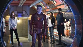 Let's Liveblog Tonight's Geeky TV: 'The Flash' Heads Back In Time