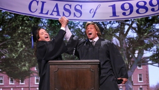 The Rock And Jimmy Fallon Shared Some Graduation Wisdom In This High-School Flashback