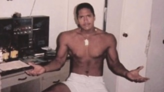 Here Is What The Rock Looked Like At Age 15
