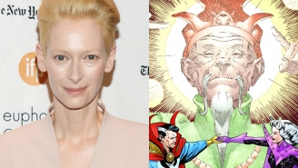 Outrage Watch: Marvel has a Tilda Swinton problem