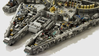Someone Built The Coolest Millennium Falcon Ever With 10,000 LEGO Blocks