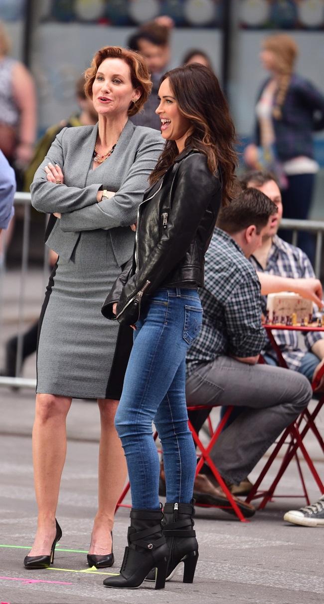 Judith Hoag and Megan Fox tmnt-2-megan-fox-judith-hoag_getty Celebrity Sightings In New York City - May 11, 2015