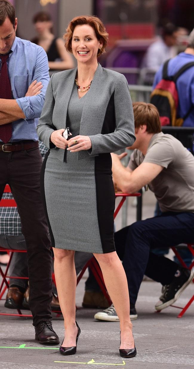 Will Arnett and Judith Hoag tmnt-2-will-arnett-judith-hoag_getty Celebrity Sightings In New York City - May 11, 2015
