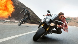 Tom Cruise Does More Crazy Stunts In The New 'Mission Impossible: Rogue Nation' Trailer