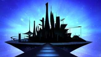 This Pixar-Animated Deleted Sequence From 'Tomorrowland' Explains 'Plus Ultra'