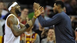 LeBron James Says Tristan Thompson 'Should Probably Be A Cavalier For His Whole Career'
