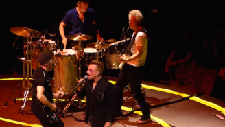 Watch U2 Pay Tribute To B.B. King By Playing This Song For The First Time In 22 Years
