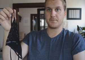 'Are These Because Of Periods?': Watch This Guy Try To Make Sense Of Women's Underwear