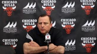 The Bulls Announce They've Finally Fired Head Coach Tom Thibodeau