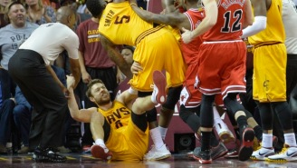 J.R. Smith Says 'I Know A Little…About Dirty Plays' And Taj Gibson's Kick 'Was A Dirty Play'