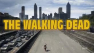 Check Out 'The Walking Dead' With An Intro Right Out Of The '80s