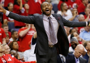 Report: John Wall Dribbled And Shot With His Injured Hand During Practice Tuesday