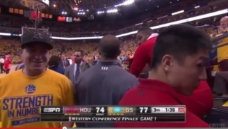 Watch This Warriors Bro Talk Smack To A Cycling Dwight Howard