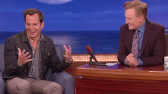 'Air Tears': Here Are Will Arnett's Best Moments On 'Conan' And 'Late Night'