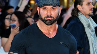Here's The First Look At Batista In The 'Kickboxer' Reboot