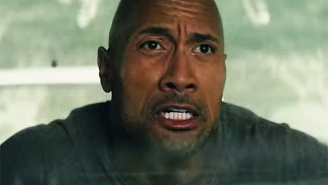 The Rock Saves All The Ladies From Falling Buildings In The Latest Trailer For 'San Andreas'