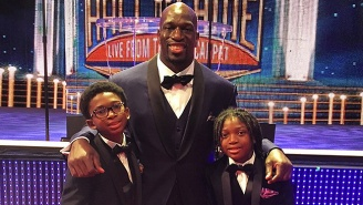 Titus O'Neil Is Celebrity Dad Of The Year, And Batista Thinks WWE Ought To Use Him Better