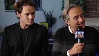 Joe Dante and Anton Yelchin on the way film fandom informs 'Burying The Ex'