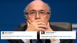The Sports World Reacts To Sepp Blatter's Stunning Resignation