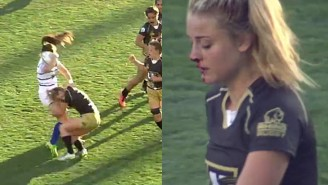 This Rugby Player Might Just Be The Toughest Woman On The Planet