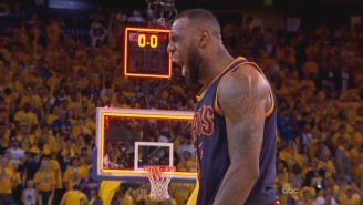 LeBron James' Monster Triple-Double Helps The Cavs Shock The Warriors In Overtime