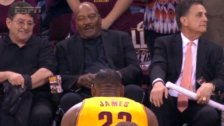 Jim Brown Calls LeBron James' Bow One Of His 'Favorite Sport Moments Of All Time'