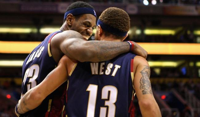 LeBron James, Delonte West