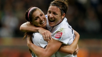 Abby Wambach Demands A 'F*cking Goal' In The First Ten Minutes And Carli Lloyd Delivers