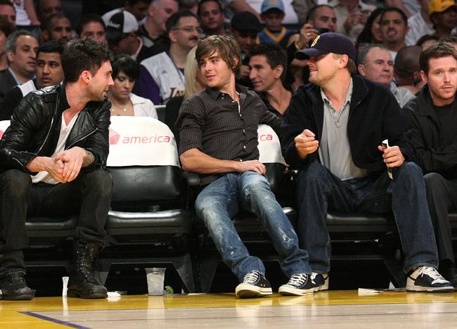 When Adam met Leo, c. 2008.