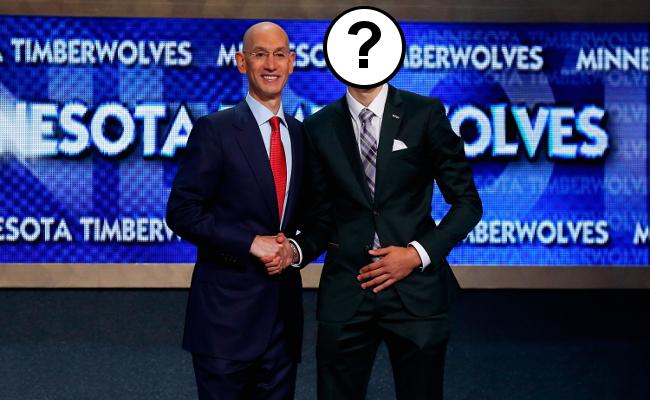 Adam Silver NBA Draft