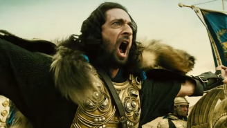 The New 'Dragon Blade' Trailer Features Adrien Brody's Adam Levine-Like Beard