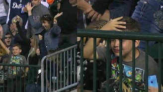 Nobody Has Ever Been More Upset About Catching A Home Run Ball