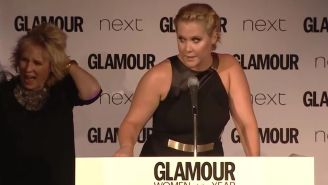 Watch Amy Schumer crack up comic legend Jennifer Saunders