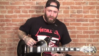 Watch The Guitarist From 'Every Time I Die' Show Why He Might Have A Future In Pro Wrestling