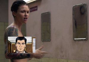 New Inmate Ruby Rose Has An 'Archer' Tattoo On 'Orange Is The New Black'