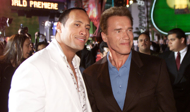 Arnold and The Rock
